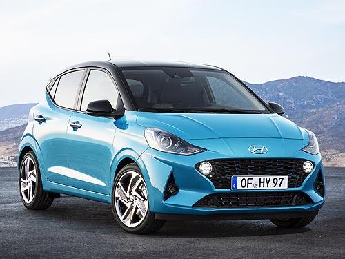 Официальные подробности о новом поколении ситикара Hyundai i10