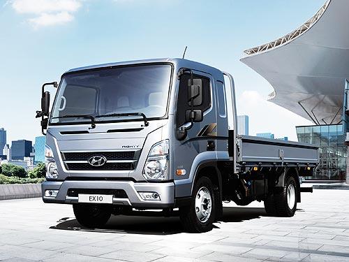 В Украине стартуют продажи нового 10-тонного грузовика Hyundai ЕХ10 (Mighty)