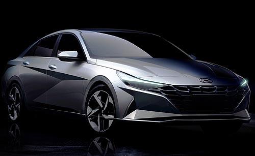 Hyundai презентовал новую Elantra и Elantra Hybrid
