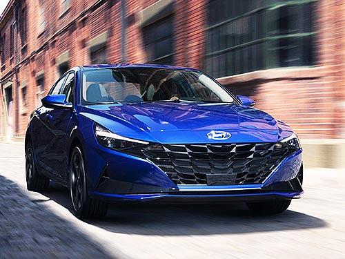 Новая Hyundai Elantra стала Автомобилем Года 2021 в Америке