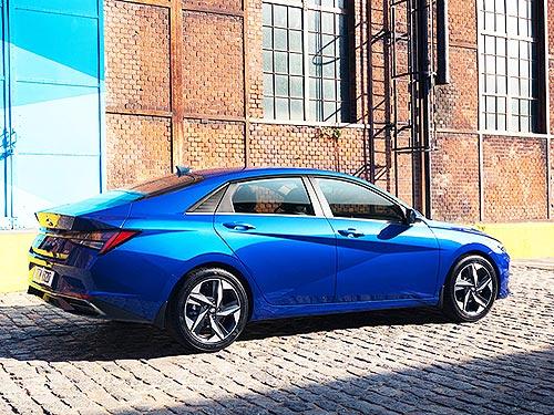 В Украине стартовали продажи абсолютно новой Hyundai Elantra. Объявлены цены - Hyundai