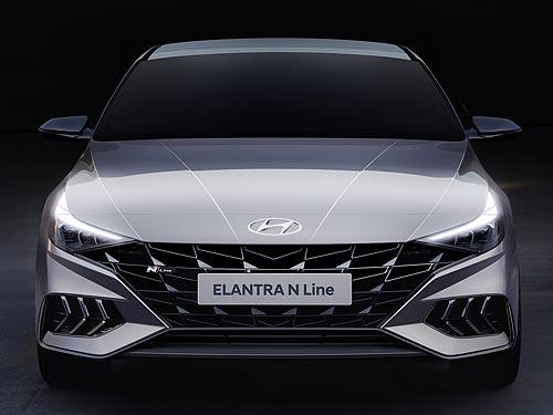 Какой будет новая Hyundai Elantra в версии N Line