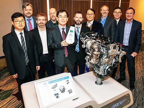 Сразу два двигателя Hyundai получили престижные награды