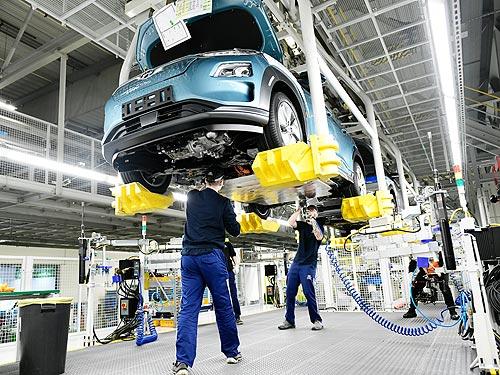 В Европе стартовала сборка электрокроссоверов Hyundai Kona Electric