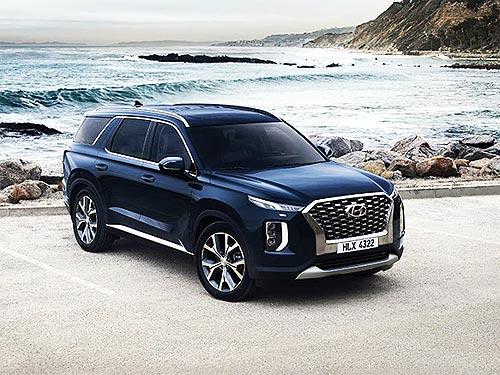 В Украине стартовали продажа новой модели Hyundai Palisade