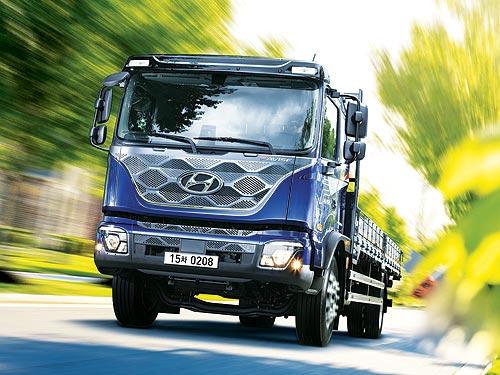 На украинский рынок выходит новый грузовик Hyundai Pavise