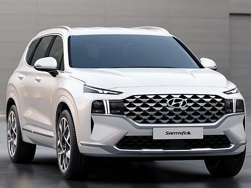 На новом Hyundai Santa Fe появится селектор выбора покрытия Terrain Mode. В Украине - в конце 2020 года