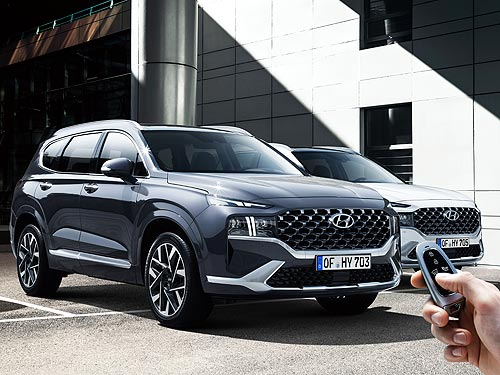 В Украине стартуют продажи обновленного Hyundai Santa Fe
