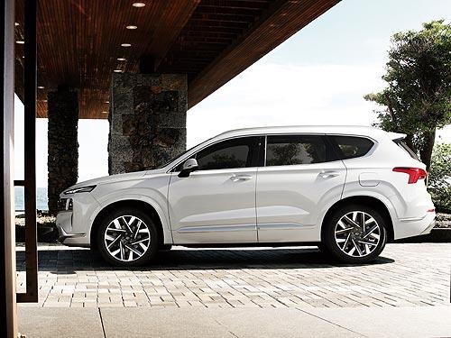 В Украине стартуют продажи обновленного Hyundai Santa Fe - Hyundai