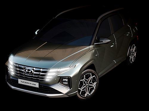 Каким будет новый Hyundai Tucson N Line. Первые фото