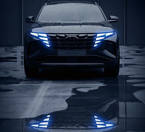 Абсолютно новый Hyundai Tucson получил революционный дизайн. Первые фото
