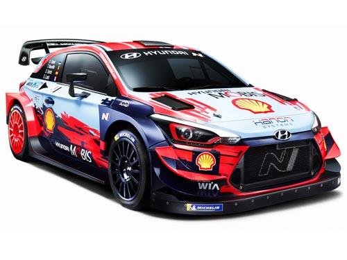 Каким будет обновленный гоночный автомобиль Hyundai i20 Coupe на WRC-2020