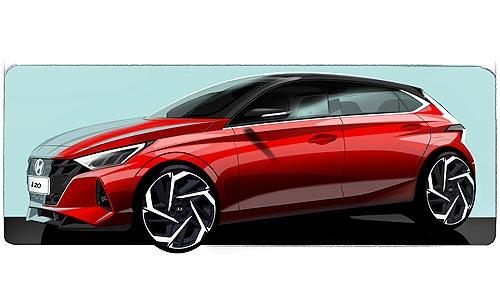 Каким будет новое поколение Hyundai i20. Первые эскизы