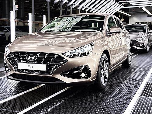 В Чехии стартует производство обновленного Hyundai i30. В Украине – в июле