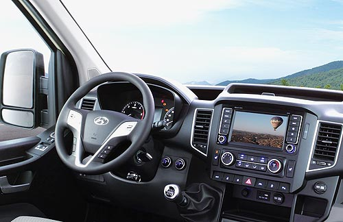 Уже в июне в Украине стартуют продажи нового малотоннажного грузовика Hyundai H350 - Hyundai