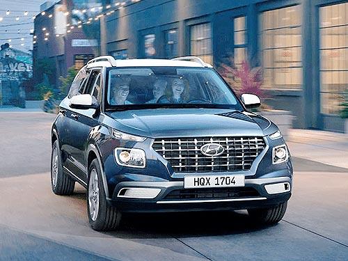 В Украине стартовали продажи абсолютно нового компактного кроссовера Hyundai Venue