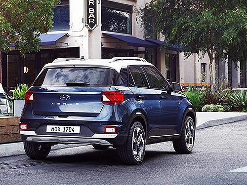 В Украине стартовали продажи абсолютно нового компактного кроссовера Hyundai Venue - Hyundai