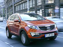 KIA Sportage стал лучшим кроссовером-SUV в Украине - KIA