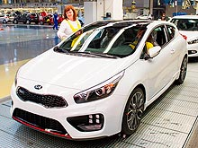 В Европе уже выпущено 2 млн. автомобилей KIA