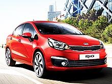 Kia Rio в январе доступен по специальной цене с выгодой до 25 300 грн.