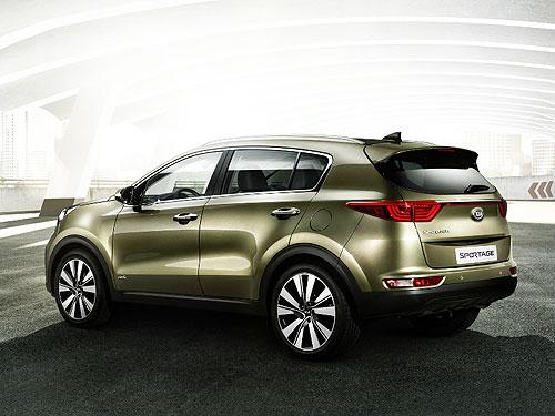 В Украине стали доступны Kia Sportage с дизельным двигателем 1,7 л и расширенной комплектацией - Kia