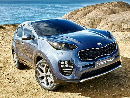 Kia Sportage стал самым популярным автомобилем в Украине с начала года - Kia