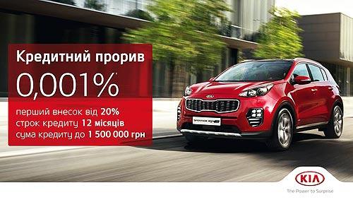 До конца года Kia можно купить в кредит под 0,001% годовых - Kia