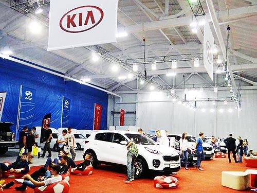 На агровыставке «Агро Экспо 2017» представили популярные модели Kia - Kia