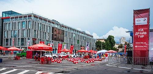 В Днепре прошел третий этап Kia Драйв Тур 2017 - Kia
