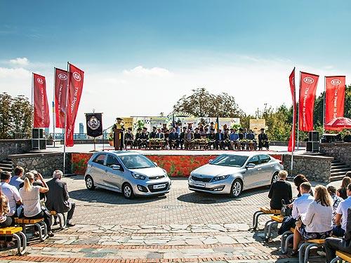 Фалькон-АВТО передала автомобили KIA Национальному транспортному университету