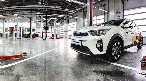 Новый кроссовер Kia Stonic представили в Одессе в обновленном 3S-центре - KIA