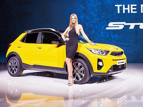 Объявлены украинские цены на новый кроссовер Kia Stonic - Kia