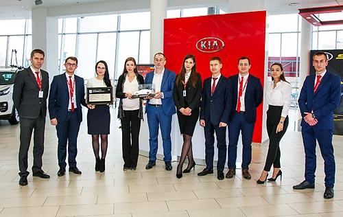 Украинские дилеры Kia получили престижные награды