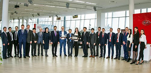 Украинские дилеры Kia получили престижные награды - Kia