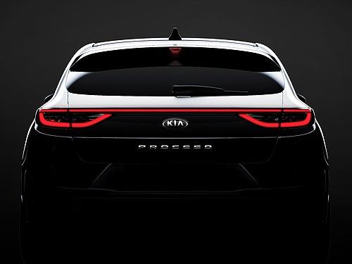 Каким будет абсолютно новый Kia ProCeed. Первый тизер