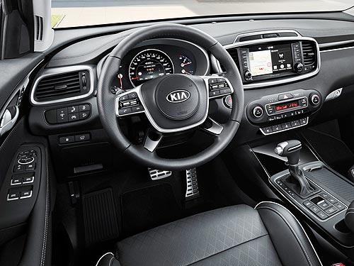 Обновленный Kia Sorento получил высший рейтинг по безопасности IIHS - Kia