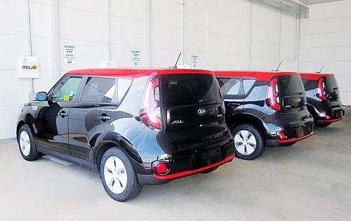 Kia испытала системы беспроводной зарядки электромобилей - Kia