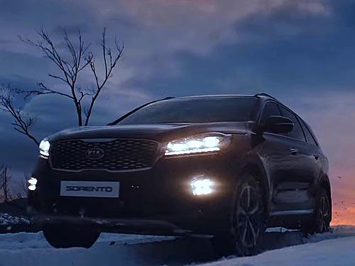 Новое рекламное видео Kia снимали в Карпатах