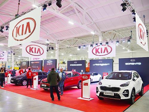 Kia представил масштабную экспозицию на крупнейшей аграрной выставке