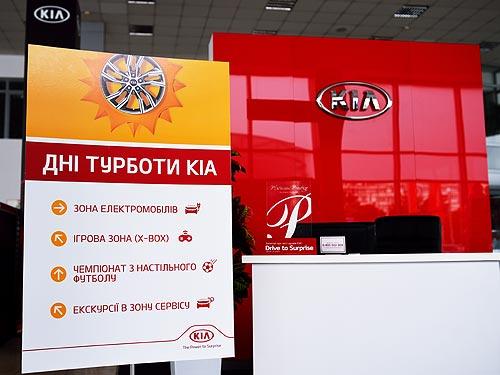 В Киеве состоялось специальное сервисное событие «Дни заботы KIA»