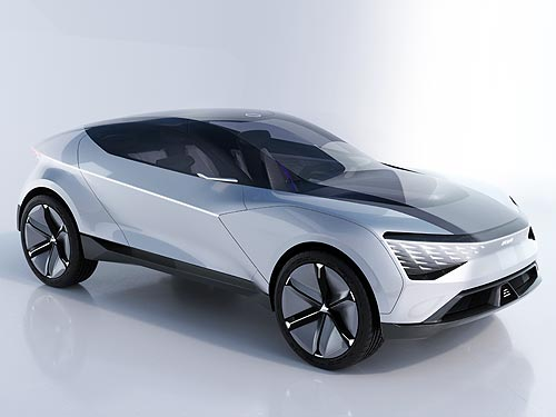 Kia представила концепт полноприводного электрокроссовера Futuron