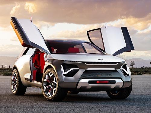 Kia показала свое видение будущего электромобиля
