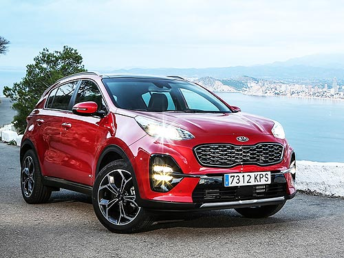 Kia Sportage стал лидером февральских продаж в Украине