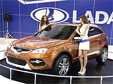 В Москве представили концепт нового кроссовера LADA C-Cross - LADA