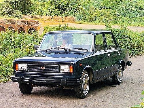 Автомобили с дизайном Fiat 124 и ВАЗ 2101. Фото - ВАЗ