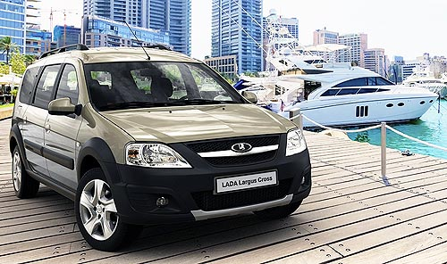 LADA Largus Cross доступны по СУПЕР цене с экономией до 65 900 грн. - LADA