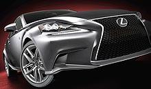 На спортивный седан Lexus IS действуют праздничные предложения
