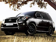 � ������� ��������� ���������� ������������ Lexus LX 570 Black&White