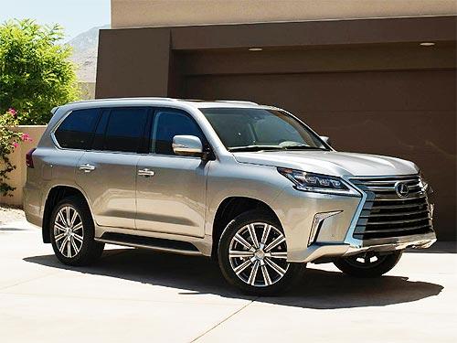 Lexus объявил спецусловия на внедорожник LX в Украине - Lexus