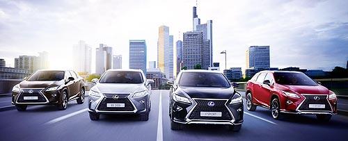 В ноябре действуют выгодные ценовые предложения на Lexus в Украине - Lexus